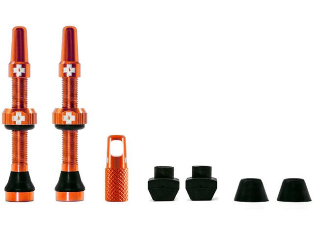Muc-Off MTB & Road Tubeless Ventil Set 44mm orange